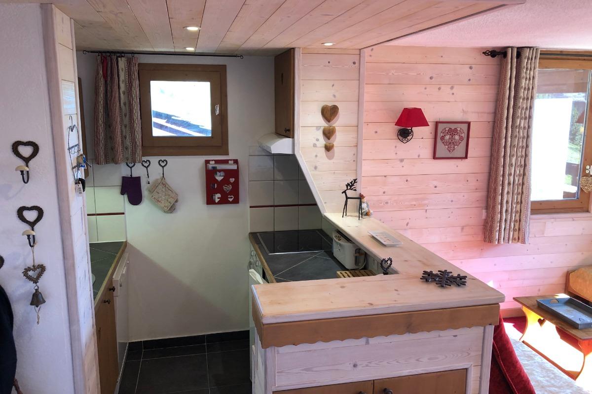 La cuisine côté cuisson - Location de vacances - Valmorel