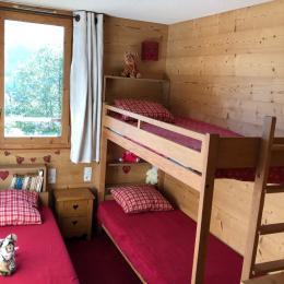 La chambre 3 lits - Location de vacances - Valmorel