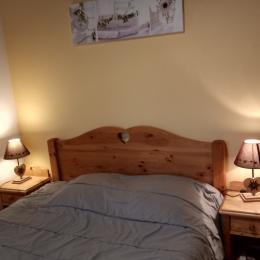 chambre 1 lit 140 X 190 - Location de vacances - Les Marches