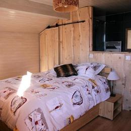 lesmarmhotes.com - Les Marm'hôtes - Chambre d'hôtes en Savoie près de la Plagne - Chambre Marmotte pour 2 personnes - Chambre d'hôtes - La Côte-d'Aime