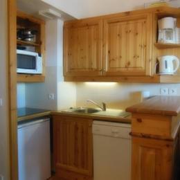 Appartement Valmorel - Coin cuisine - Location de vacances - Valmorel