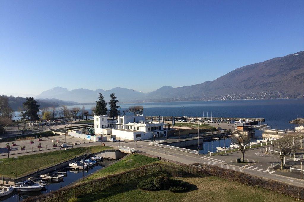 une des vues depuis la terrasse - Location de vacances - Aix-les-Bains