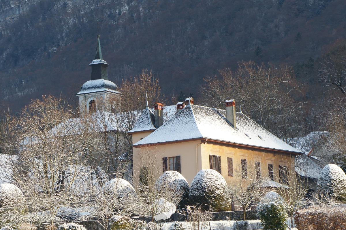 la maison en hiver - Location de vacances - Méry