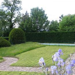 Maison à Méry avec grand parc, verger et piscine - Location de vacances - Méry