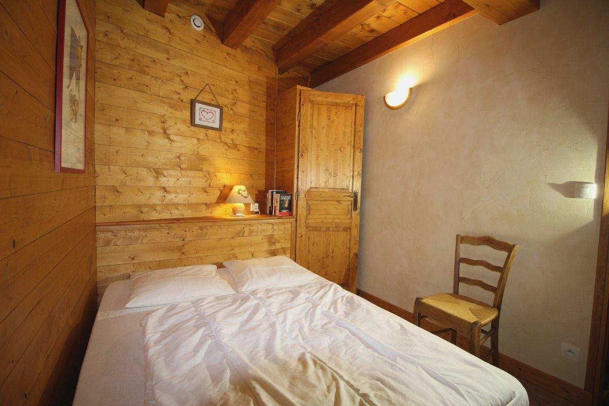 Crève tête chambre 1 lit 140 / 190 cm - Location de vacances - Valmorel