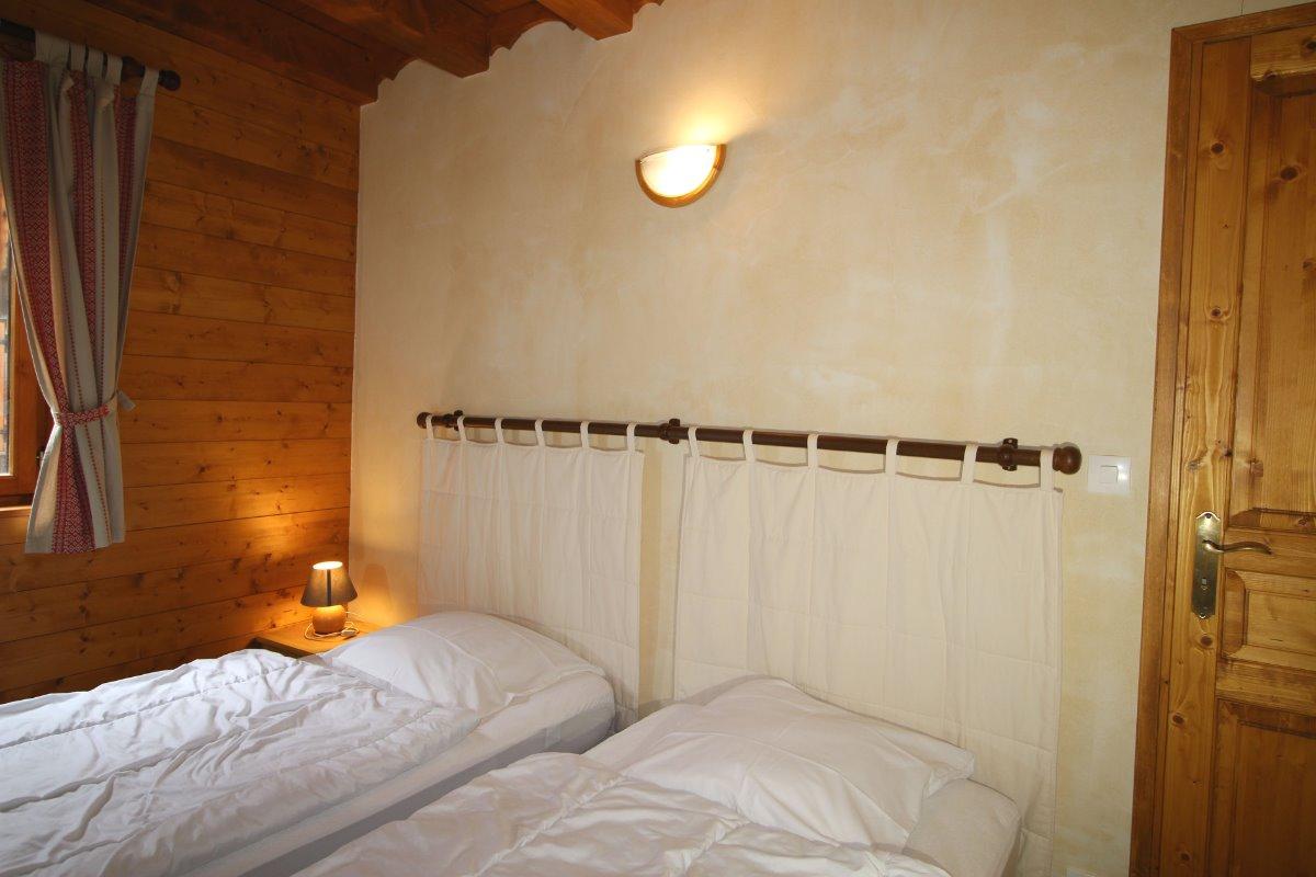 Crève tête chambre 2 lits 90 x 190 cm - Location de vacances - Valmorel