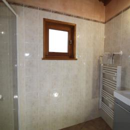 Crève tête salle d'eau, sèche serviette et douche à l'Italienne - Location de vacances - Valmorel
