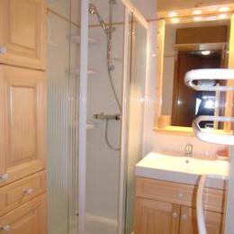 salle de bains rouvillain chevreuil - Location de vacances - Les Saisies