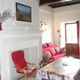 La maison d'Augustin - Pièce de vie - appartement 6 personnes  - Saint Jean d'Arves - Savoie - Location de vacances - Saint-Jean-d'Arves