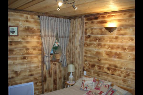 Chambre double - Chalet Lou Murgis - Saint Sorlin d'Arves - Savoie  - Location de vacances - Saint-Sorlin-d'Arves