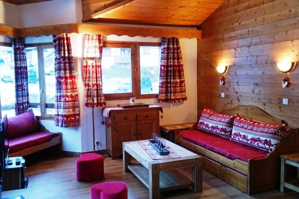 Façade Sud été (Parasol)  - Location de vacances - Valmorel
