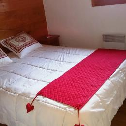Chambre 1 : Lit 140cm - Location de vacances - Valmorel