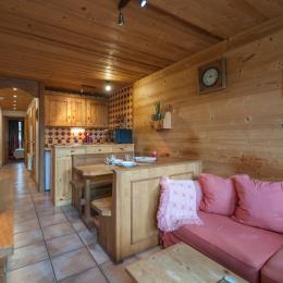 Salon salle à manger - Location de vacances - Champagny-en-Vanoise
