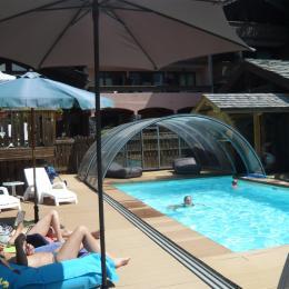 piscine de la résidence - Location de vacances - Champagny-en-Vanoise