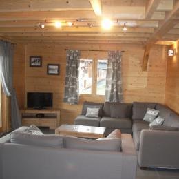 Chalet Alp'Azur La Toussuire en Savoie - Chambre N°1 double RDC - Location de vacances - La Toussuire