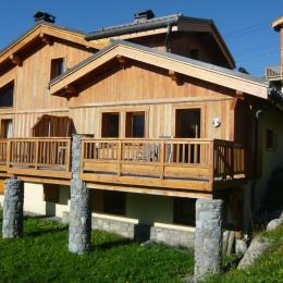 Vue sur la terrasse - Location de vacances - Saint-François-Longchamp