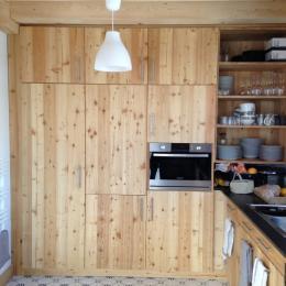 Chalet à Valloire Galibier - coin cuisine - Location de vacances - Valloire