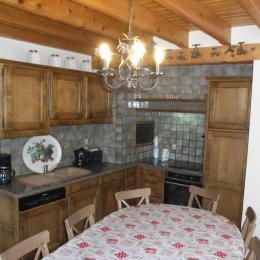 Chalet Le Loup Blanc - Station La Toussuire en Savoie - Cuisine  - Location de vacances - La Toussuire
