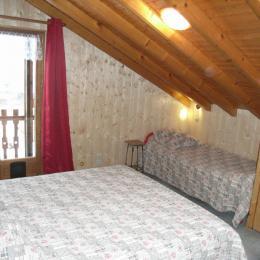 Chalet Le Loup Blanc - Station La Toussuire en Savoie - chambre 1 - Location de vacances - La Toussuire