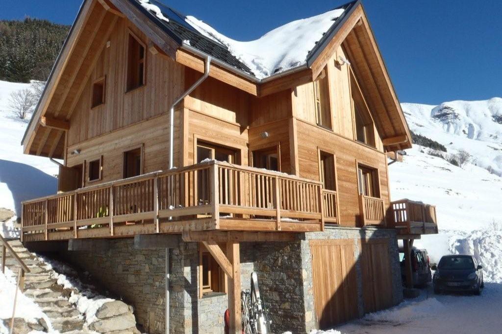 salon - Chalet La Ruche - Saint Sorlin d'Arves - Savoie  - Location de vacances - Saint-Sorlin-d'Arves