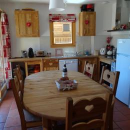 Cuisine - Chalet La Ruche - Saint Sorlin d'Arves - Savoie - Location de vacances - Saint-Sorlin-d'Arves