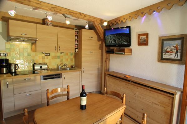 séjour coin cuisine - Location de vacances - Valmorel