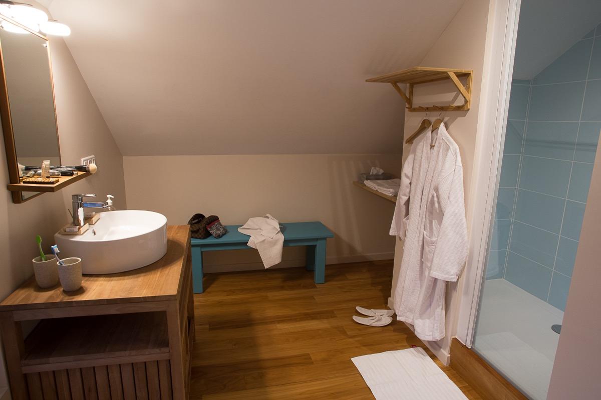 Espace salon-détente de la Suite L'étoile à L'émeraude des Alpes, chambres d'hôtes du Désert en Chartreuse - Chambre d'hôtes - Entremont-le-Vieux