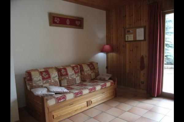 coin salon - Chalet Comborcière - station de ski Saint Sorlin d'Arves - Savoie  - Location de vacances - Saint-Sorlin-d'Arves