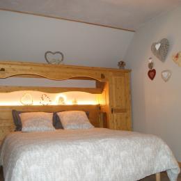 La chambre   accroche coeurs  - Chambre d'hôtes - Saint-Pierre-de-Genebroz