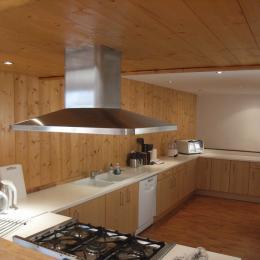 Chalet Beauséjour - appartement les terrasses - cuisine - Saint Sorlin d'Arves - Savoie  - Location de vacances - Saint-Sorlin-d'Arves