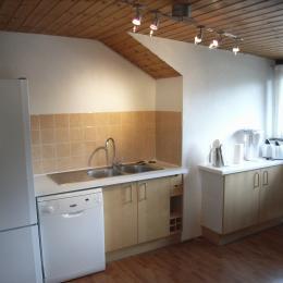 Appartement Les Mansardes - Chalet Beauséjour à Saint Sorlin d'Arves - cuisine - Location de vacances - Saint-Sorlin-d'Arves