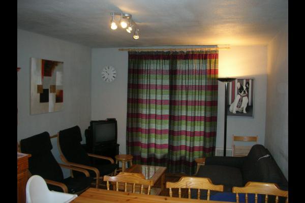 Appartement Le Belvédère n°15 - Saint Sorlin d'Arves - station de ski - Savoie - Pièce de vie - Location de vacances - Saint-Sorlin-d'Arves