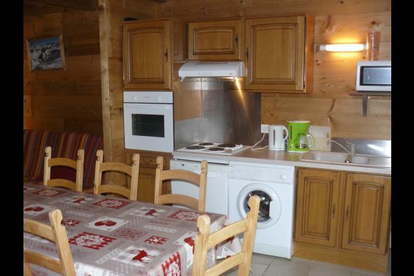 location station de ski Savoie -  espace cuisine - Chalet Milliat - Appartement Marmotte - Location de vacances - Saint-Sorlin-d'Arves