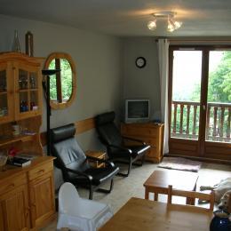 Pièce de vie - Appartement le Belvédère - Saint Sorlin d'Arves - Savoie   - Location de vacances - Saint-Sorlin-d'Arves
