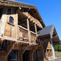 Chalet Les Aiguilles Blanches - Vue extérieure  Proximité station de ski la Toussuire Les Sybelles - Location de vacances - La Toussuire