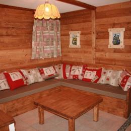 location grande capacité - station de ski La Toussuire en Savoie - Salon - Location de vacances - La Toussuire