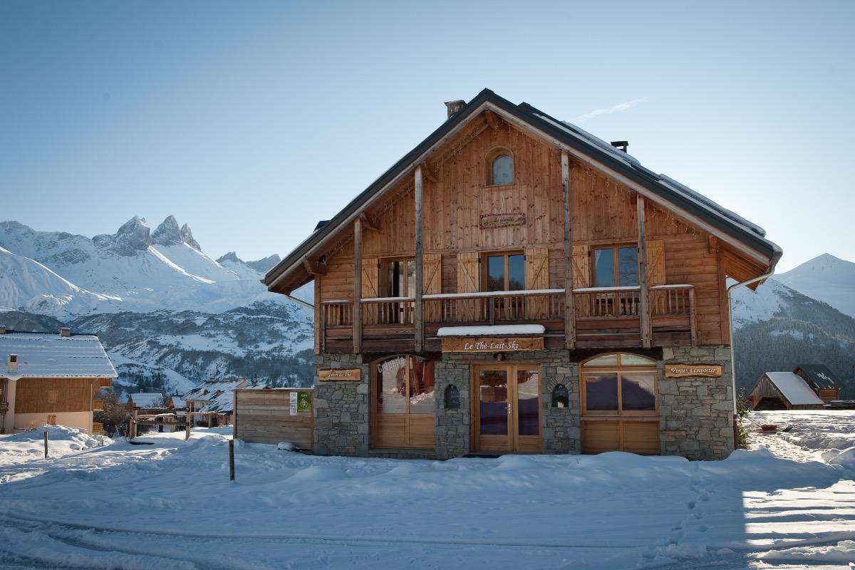 le chalet et la crêperie le Thé Lait Ski - Location de vacances - Albiez-Montrond