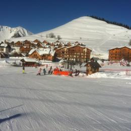 Chalet vue des pistes de ski The chalet view from the ski slopes - Location de vacances - Albiez-Montrond