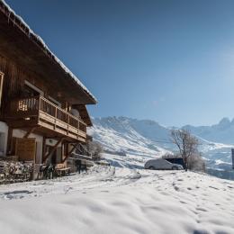 Location le Fleur de Neige - Albiez Montrond en Savoie, face aux Aiguilles d'Arves - Location de vacances - Albiez-Montrond