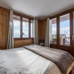 Gite le Fleur de Neige - Chambre avec vue - Albiez Montrond - Station familiale en Savoie  - Location de vacances - Albiez-Montrond