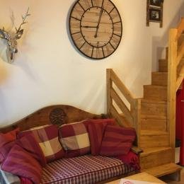 Joli appartement idéal pour les familles, départ ski aux pied Pralognan la Vanoise - pièce de vie - Location de vacances - Pralognan-la-Vanoise
