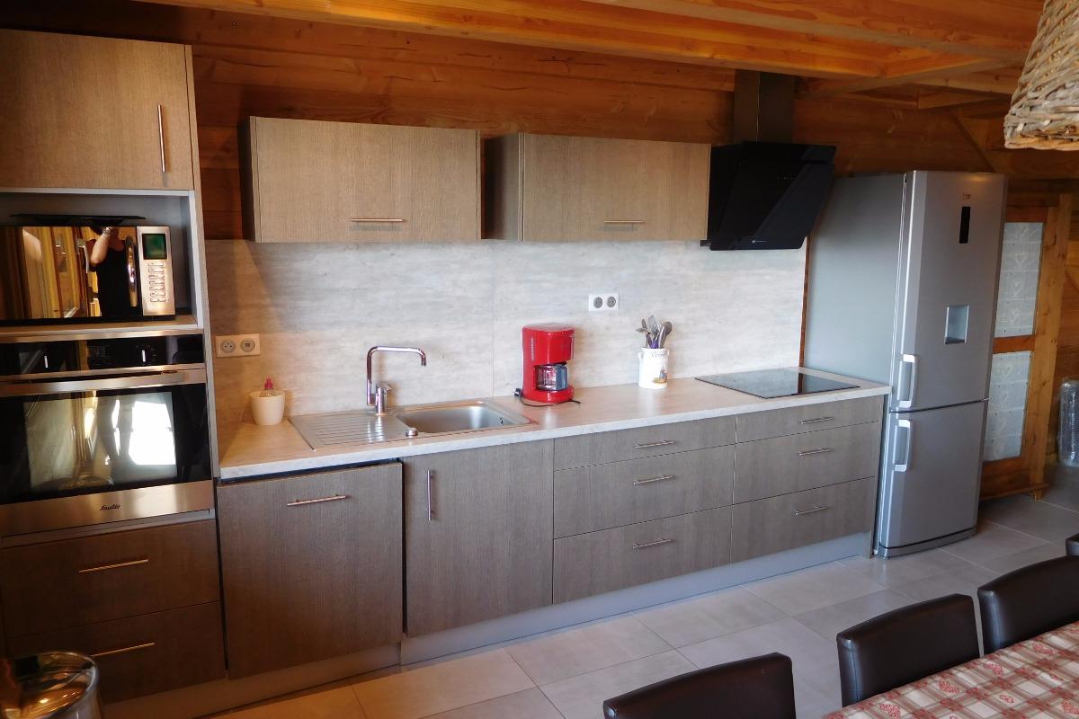 Appartement grande capacité Le Krissyann - chalet neuf La Toussuire en Savoie - domaine skiable Les Sybelles - cuisine équipée. - Location de vacances - La Toussuire