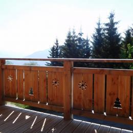 Appartement grande capacité Le Krissyann - chalet neuf La Toussuire en Savoie - domaine skiable Les Sybelles - terrasse avec vue montagne - sans vis à vis.  - Location de vacances - La Toussuire