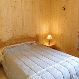 Appartement Le Lièvre Blanc - Chalet neuf à La Toussuire en Savoie - chambre double 1 - Location de vacances - La Toussuire