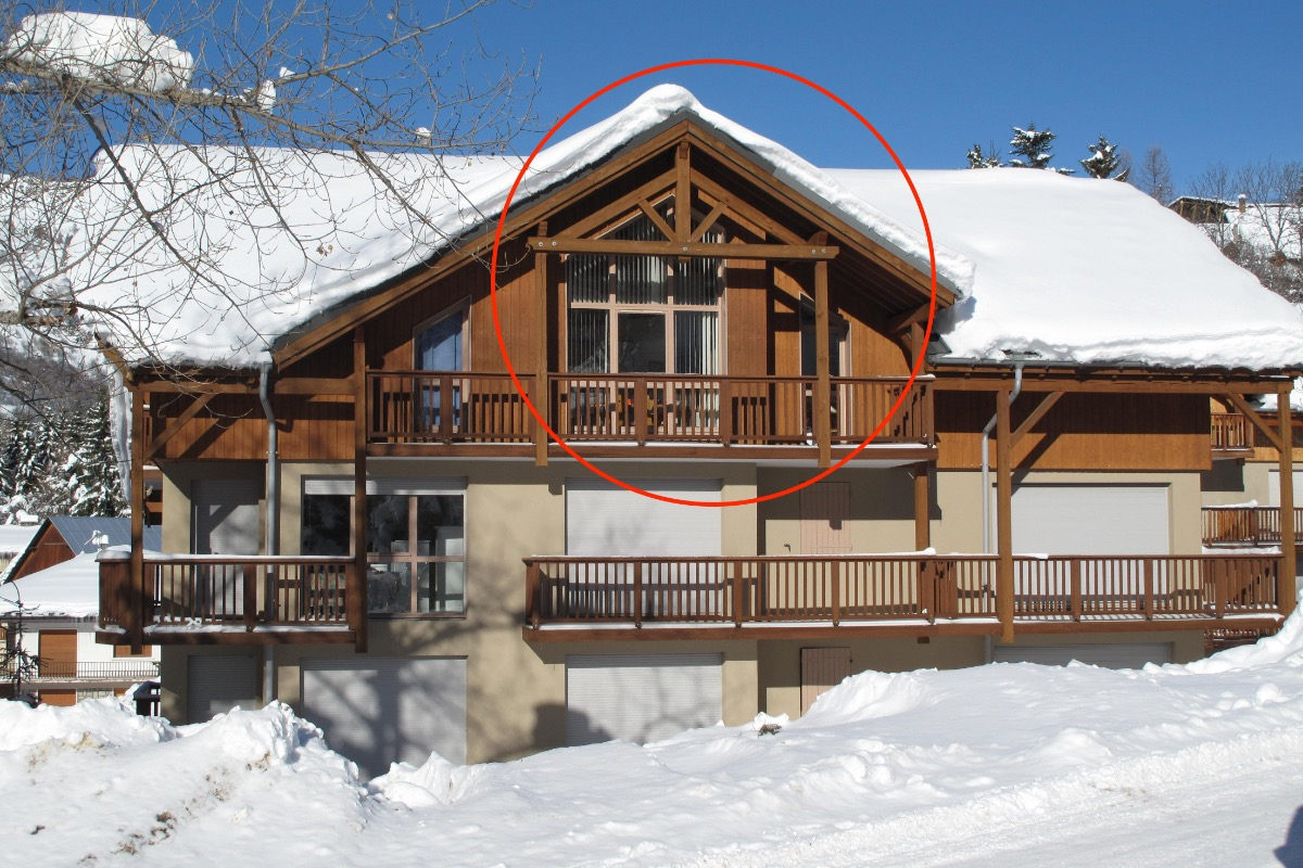 RES. LA CLAREE N° B11 : Appartement dans chalet   - Location de vacances - Valloire