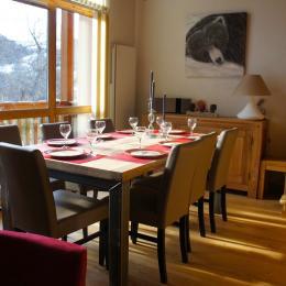 Salle à manger - Location de vacances - Valloire