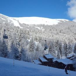 Vue de la terrasse - Location de vacances - Valmorel