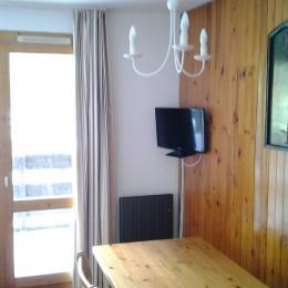 Cuisine indépendante 2 Appartement pour 5 personnes au coeur de la station Valmorel, en plein coeur de la Tarentaise - Savoie Mont Blanc - Location de vacances - Valmorel
