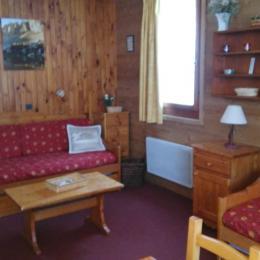 Espace salon / Living room - Location de vacances - Valmorel