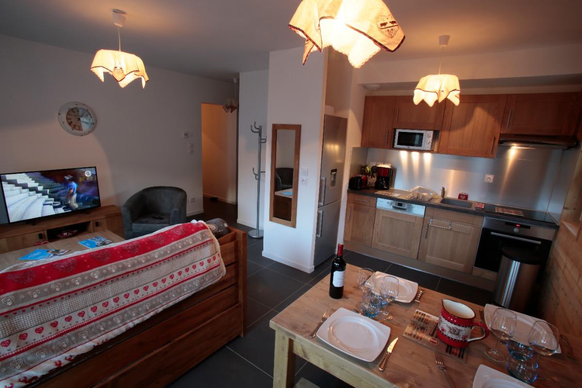 Coin cuisine / salle à manger - Location de vacances - Valloire